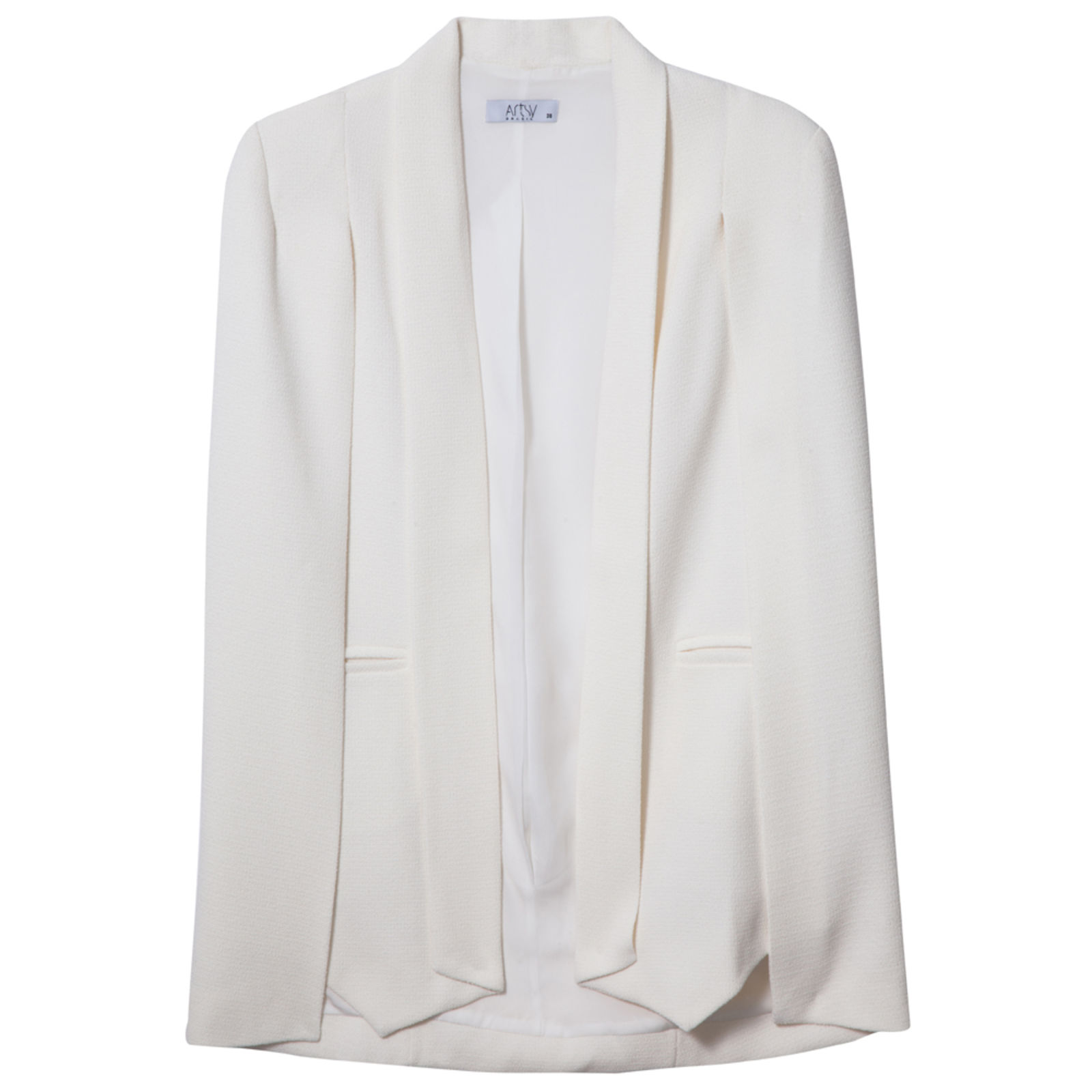 Blazer Artsy desconstruido - off white