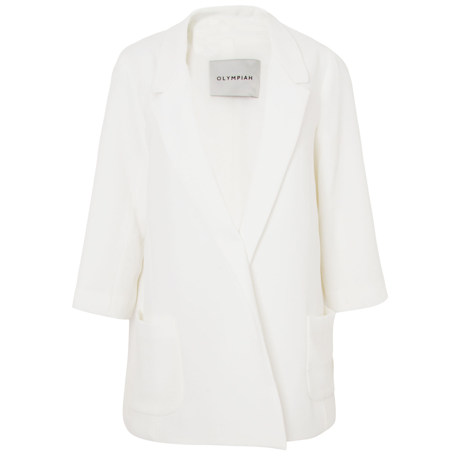 Blazer River Droite off white
